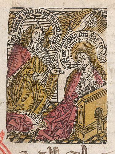 Detail: Annunciation