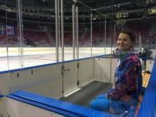 Bolshoy Ice Dome, in the penalty box