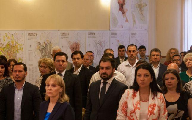 Consilierii municipali din Chișinău FOTO: Sandu Tarlev