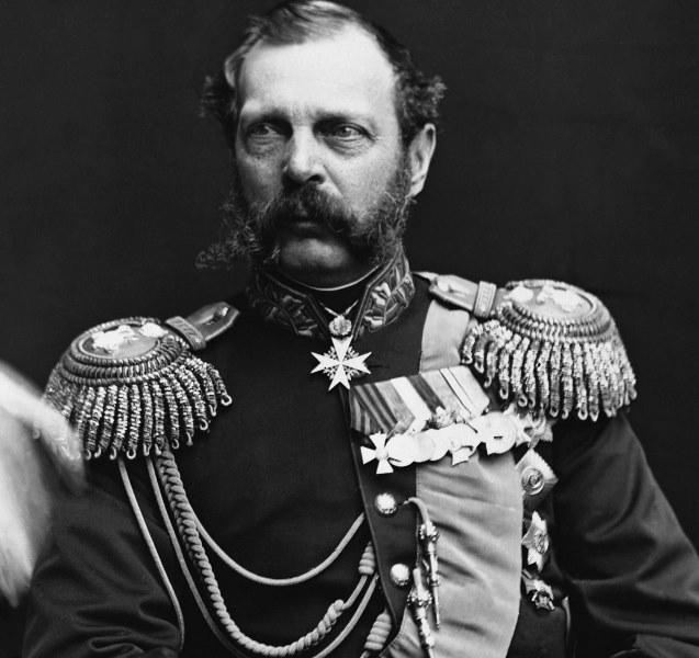 Țarul Alexandru al II-lea al Rusiei