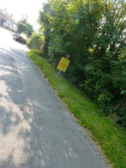 Today it's a small country lane in a sleep village, next weekend the Tour of Britain will zoom through...