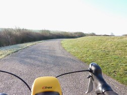 Cycle path to Seaford