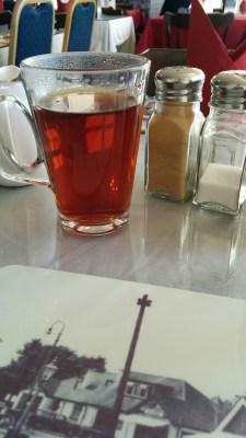 Tea.. in a glass