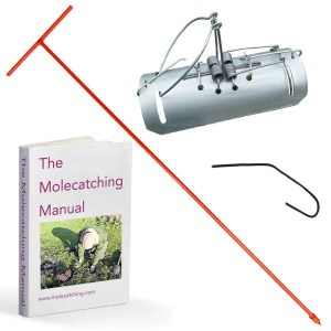 Mole Catching Kit with tunnel Traps