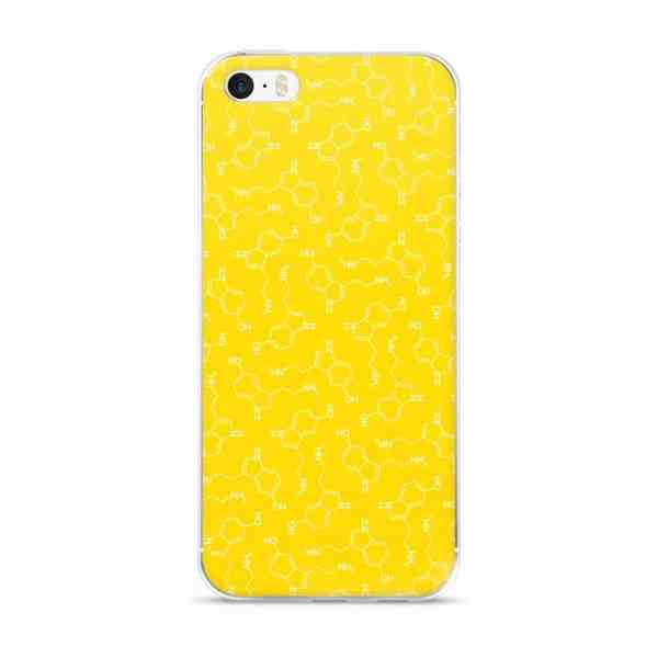 Serotonin Molecule iPhone 5 Case