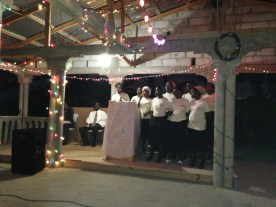 Our women's choir prepared several songs for the revival!