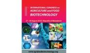 2. Uluslararası Tarım ve Gıda Biyoteknolojisi kongresi