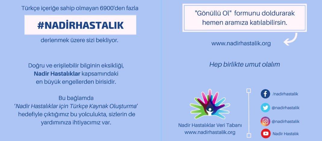 Nadir Hastalıklar Veri Tabanı – www.nadirhastalik.org