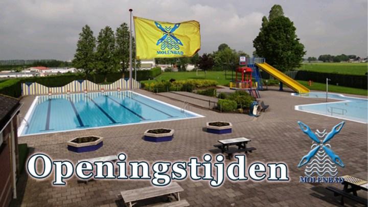 Molenbad geopend tot 17 uur