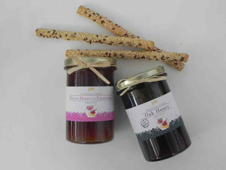 Premium Greek Honey selection