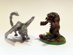 Owlbear & Manticore