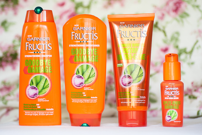 molkan skönhetsblogg garnier fructis goodbye damage recension reveiw