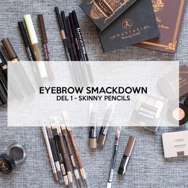 eyebrow smackdown del 1 skinny pencils