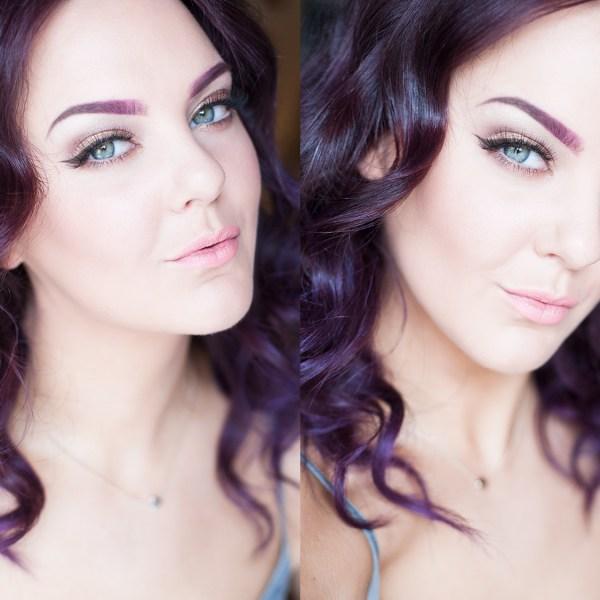 sommarsminkning tutorial makeup summer
