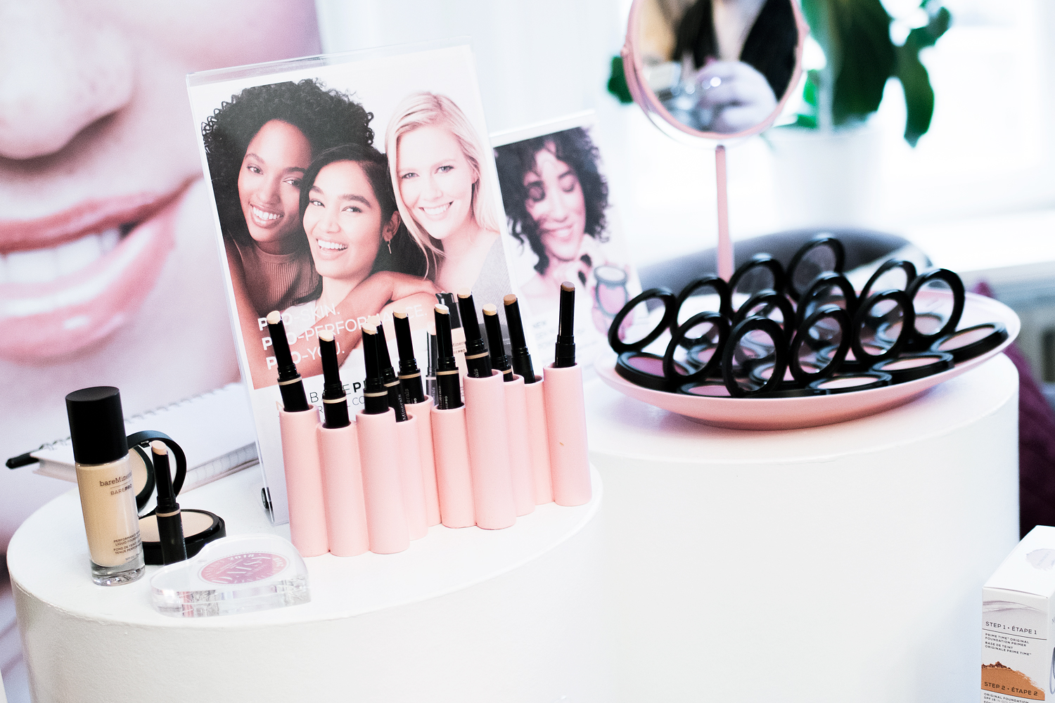 daisy beauty expo 2018 bareminerals