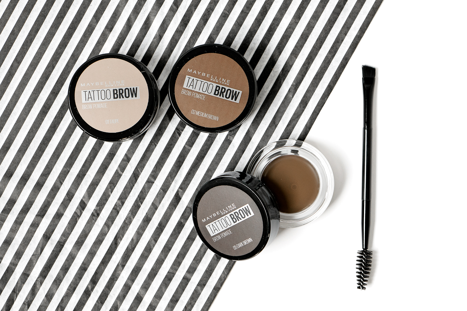 maybelline tattoo brow pomade