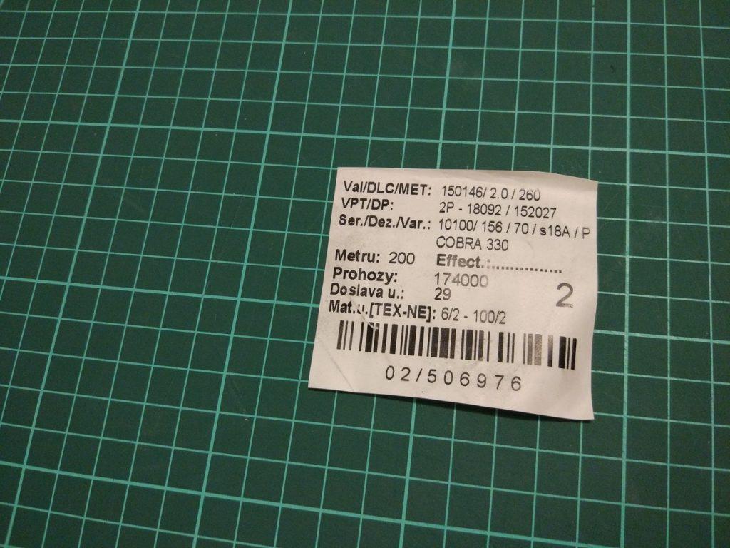 материалы для долговременной маркировки в прачечной WIP120