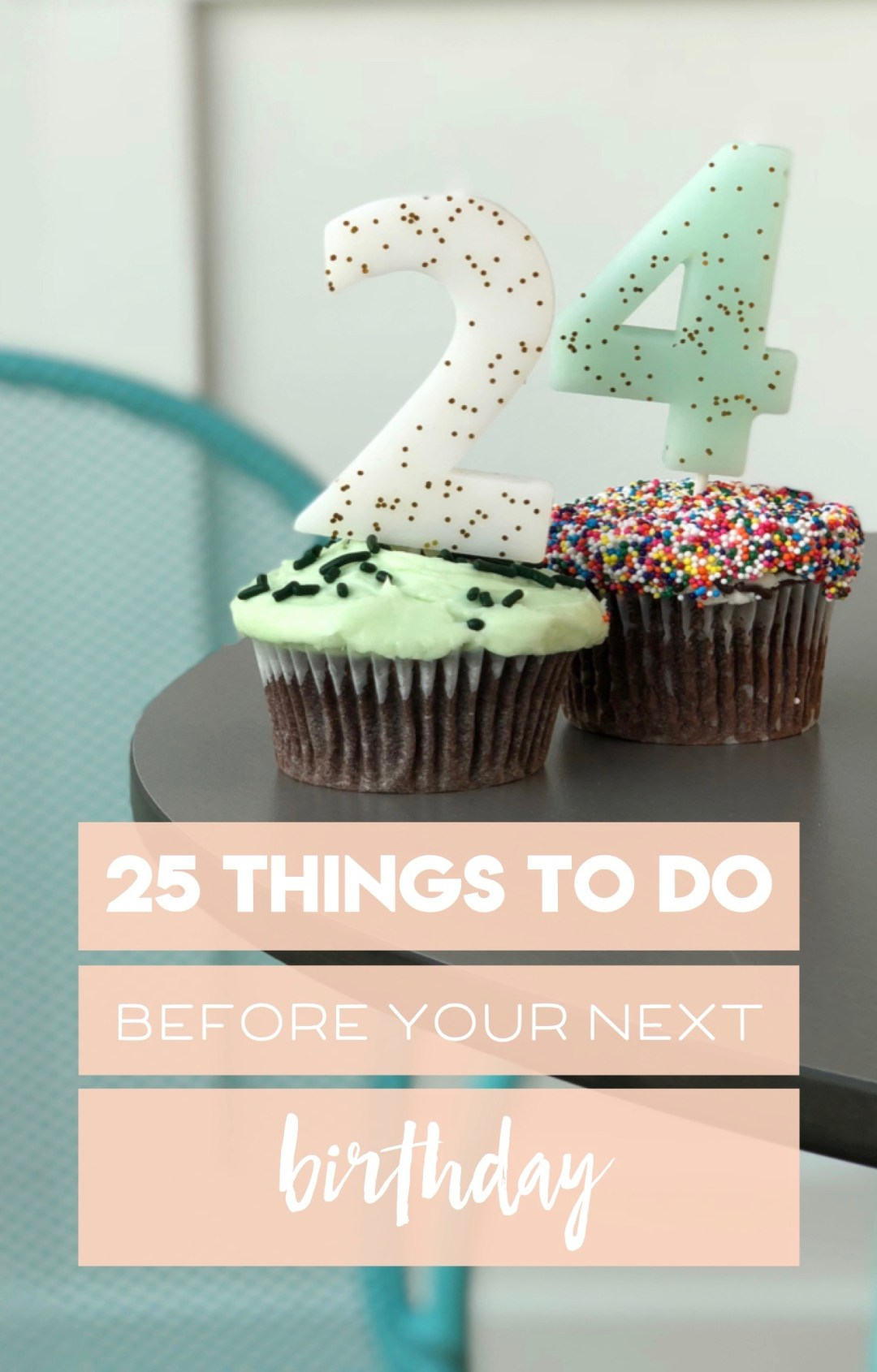 a bucket list for my 25th year // random acts of kindness, steps towards my dreams