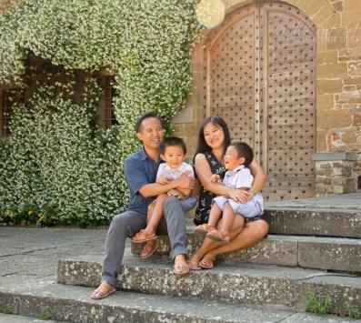 Photoshoot in San Miniato al Monte, Florence, Italy