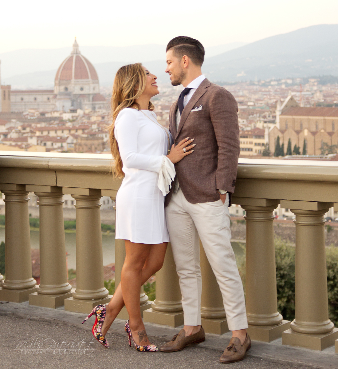 Luxury Wedding Anniversary Photography in Florence, Italy