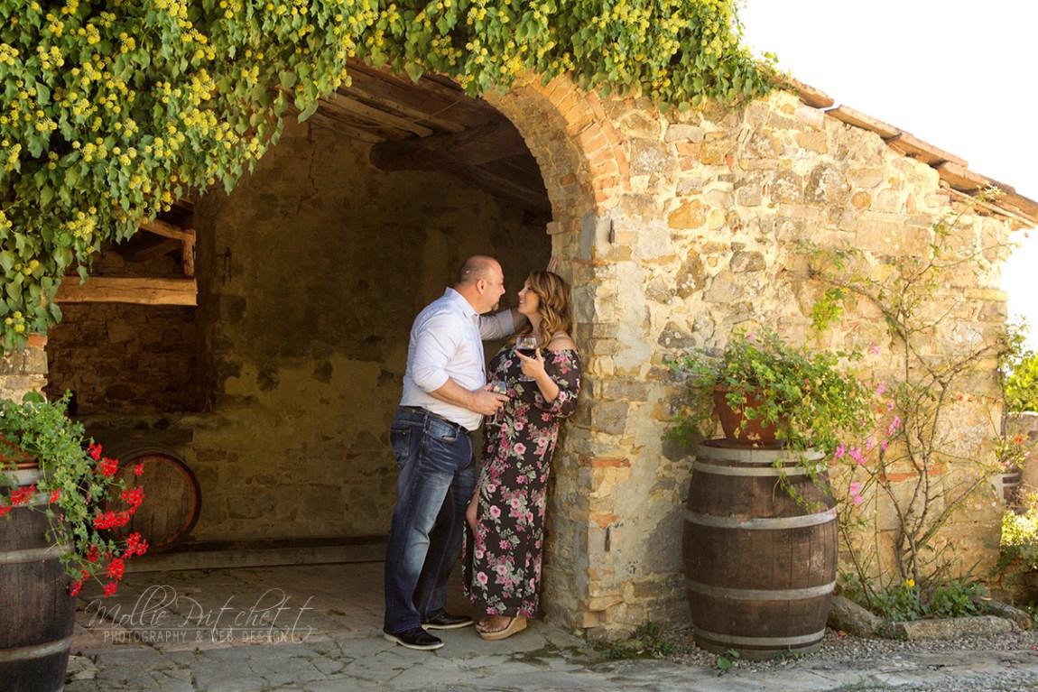 Wedding in Tuscany Engagement Photos