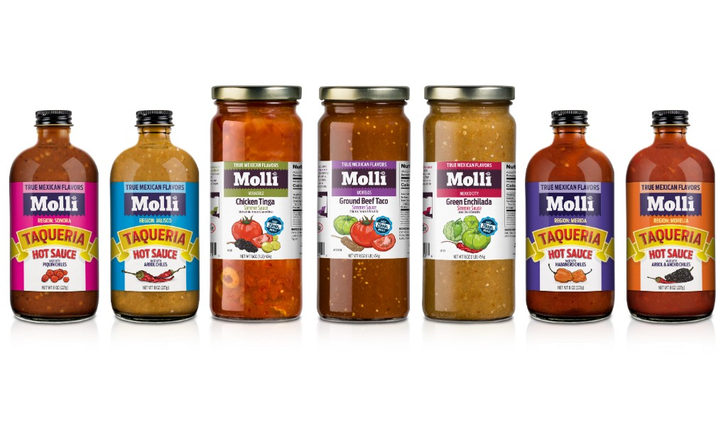 Mexican simmer sauces and hot sauces