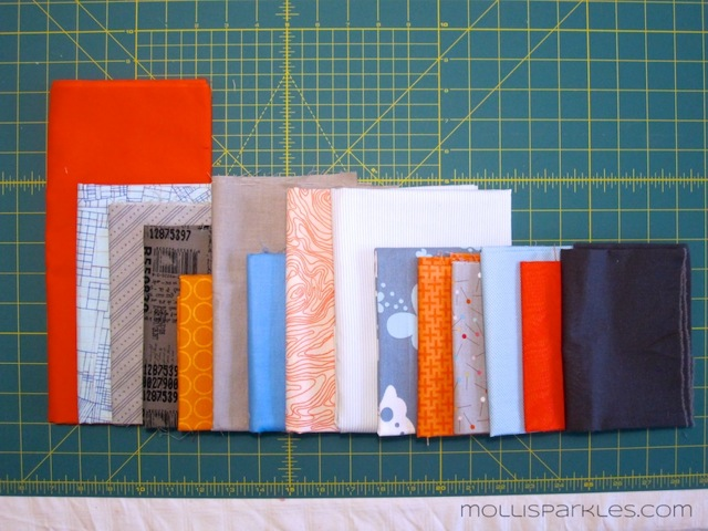 Tutorial – String Piecing Without a Foundation