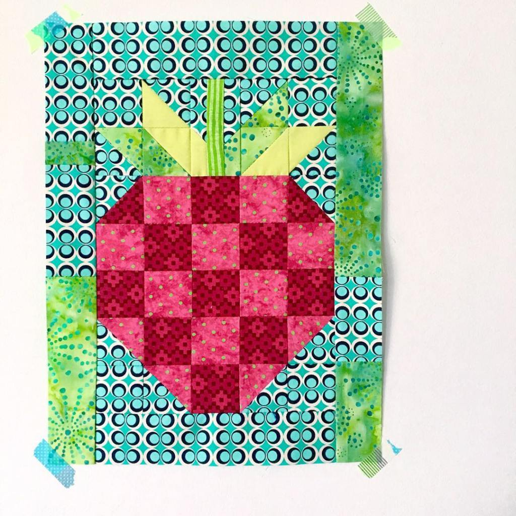 The quilt Im making for thehoneypotbee will be full ofhellip
