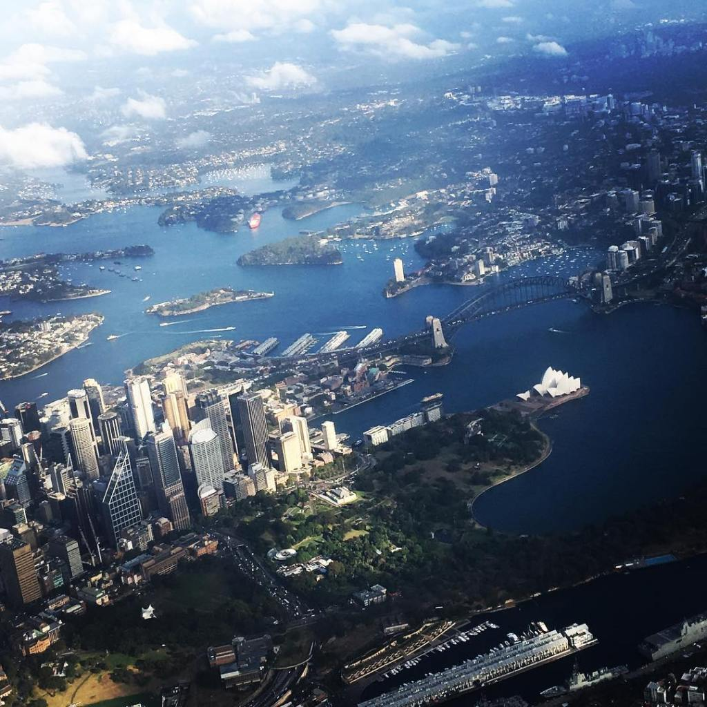 A view from the top Sydney will always have myhellip