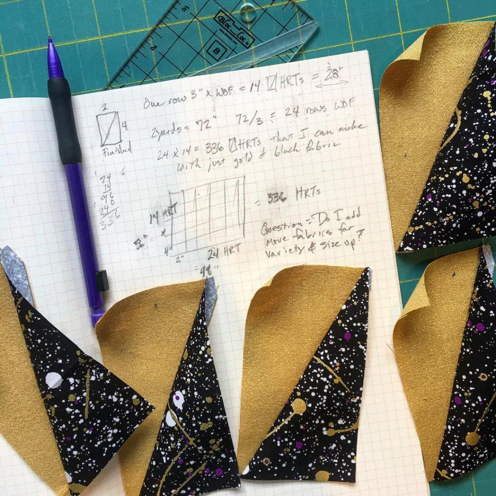 My quilt design process