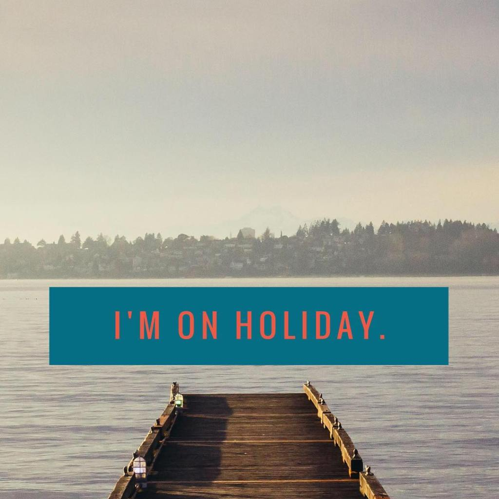 Im officially on holiday starting now! Please forgive my absencehellip