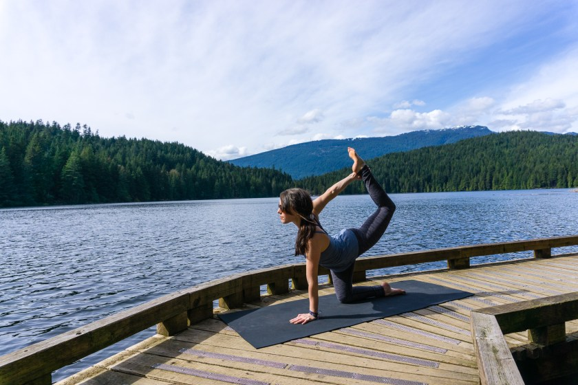 Yoga at Belcarra Regional Park