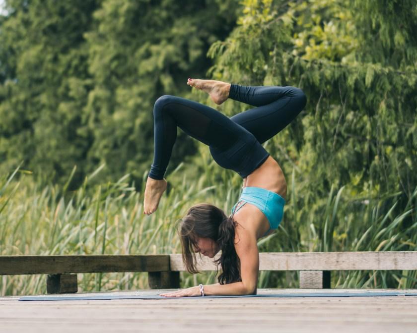Forearm Stand Yoga Pose