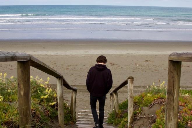 New Brighton Beach, Christchurch, NZ