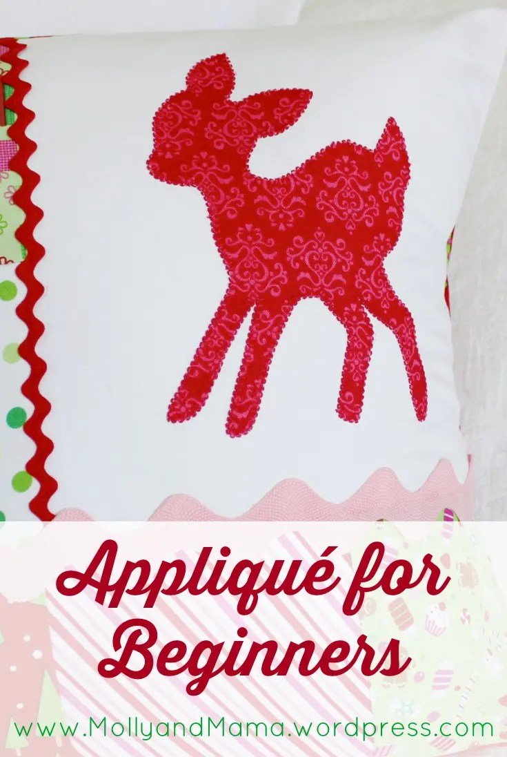 Applique For Beginners A Tutorial By Molly And Mama