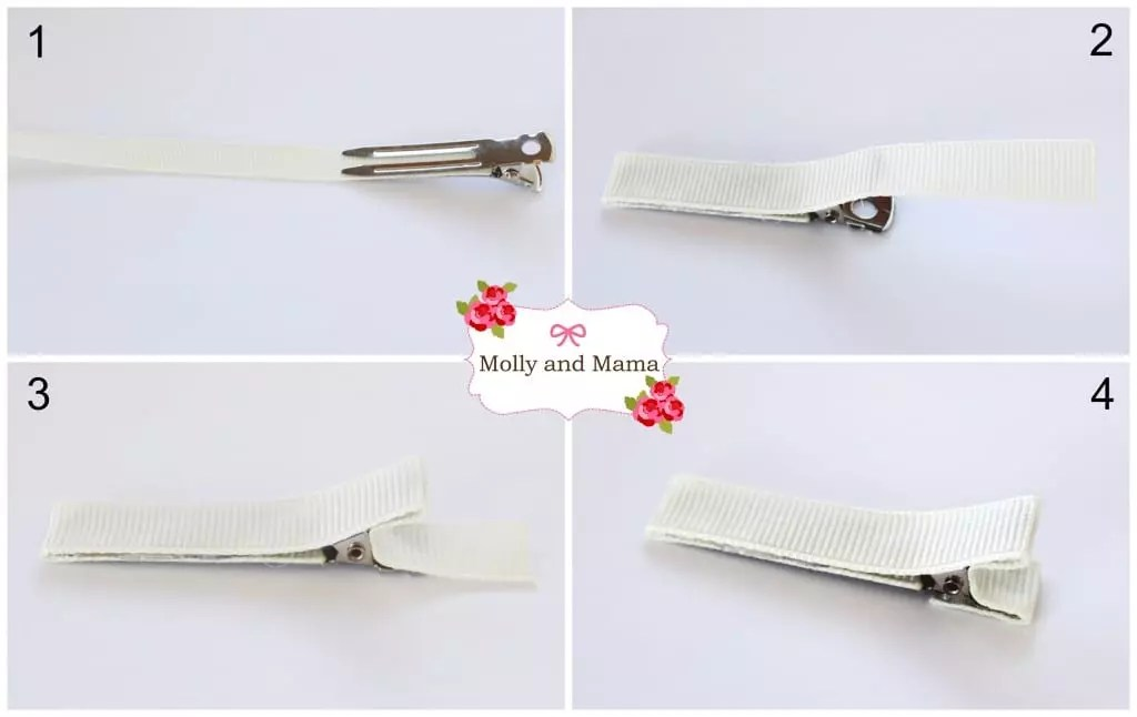 Line an alligator clip - a tutorial by Molly and Mama