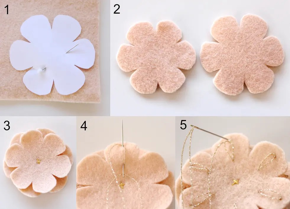 Apricot Blossom by Molly and Mama
