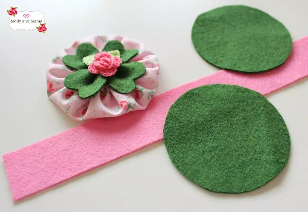 Gather your pin cushion materials - Molly and Mama