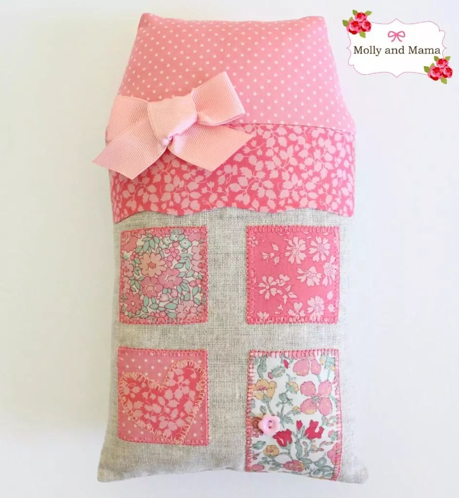 Mini Highland House Cushion by Molly and Mama