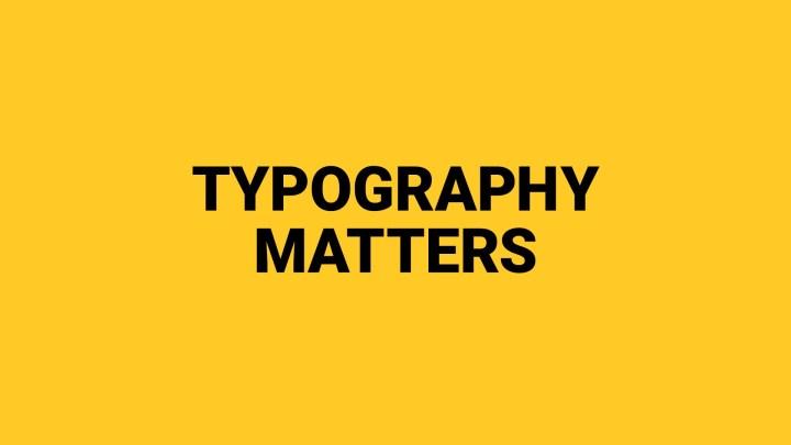 Logo Typography | Intentional Design