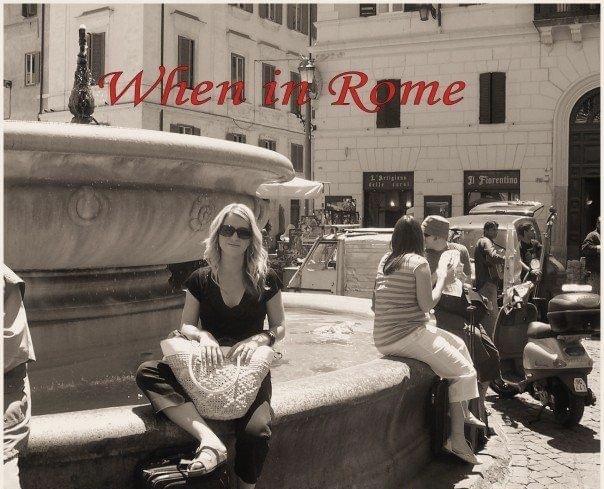 photo of Gretta in Rome