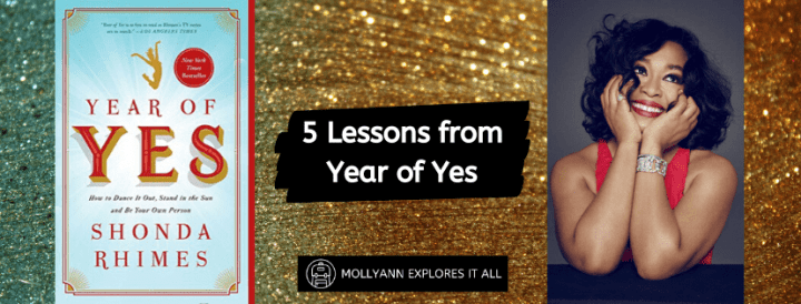5 Lessons from Year of Yes by Shonda Rhimes