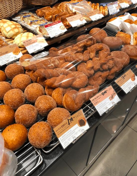 photo of Korean baked goods