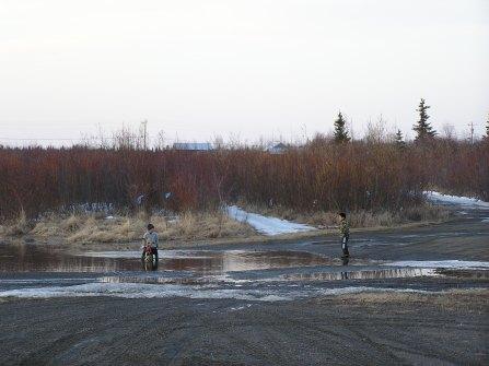 Tuluksak spring flood