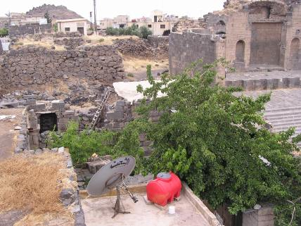 People still live in the ruins at Phillipi and elsewhere