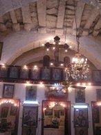 Inside church at Tissia