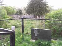 My friend's father's grave