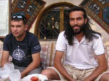 My hosts, Kamil and Mustafa