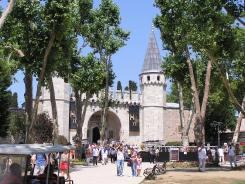 Topkapi Palace gates (doesn't it look like Disneyland a little?)