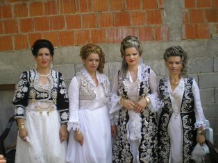 Brides from my region, but not my village. Ours had more gold than silver, but otherwise look very similar